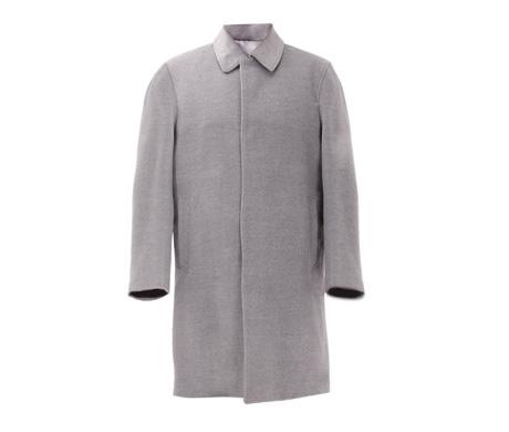 豪华羊绒男士大衣(蓝色、卡其色、深灰色、浅